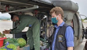 Forças Armadas distribui tonelada de alimentos para animais afetados por queimadas no Pantanal