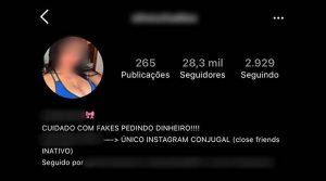 Com 28 mil seguidores, campo-grandense que vende fotos sensuais no Instagram vai à Justiça contra 'fake golpista'
